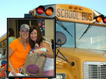 St. Ignatius Catholic Church delivers two truckloads of school supplies to Kaiser Elementary