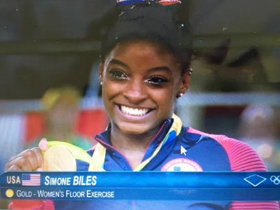 Simone Biles of Spring TX wins treasure trove of gymnastics gold medals